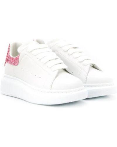 Sneakersy niskie - białe Alexander Mcqueen
