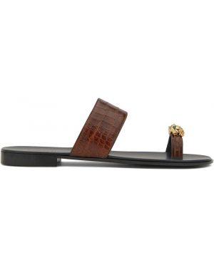 Skórzany sandały Giuseppe Zanotti