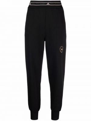 Черные брюки с принтом Adidas By Stella Mccartney