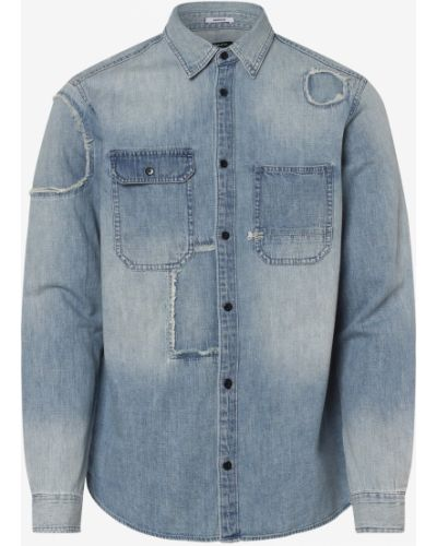 Niebieska koszula jeansowa Denham