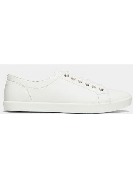 Кеды белые на шнуровке Ralf Ringer