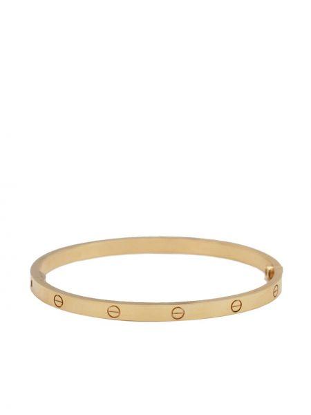 Żółta złota bransoletka ze złota Cartier