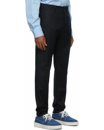 Spodnie cygaretki - czarne Ami Alexandre Mattiussi