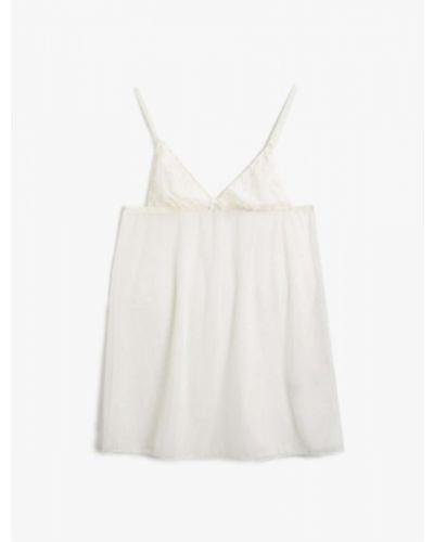 Koszula nocna - biała Koton