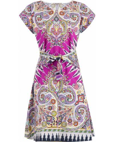 Платье с поясом кимоно свободного кроя Etro