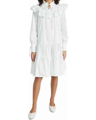 Кружевное платье макси с длинными рукавами с декольте Glamorous