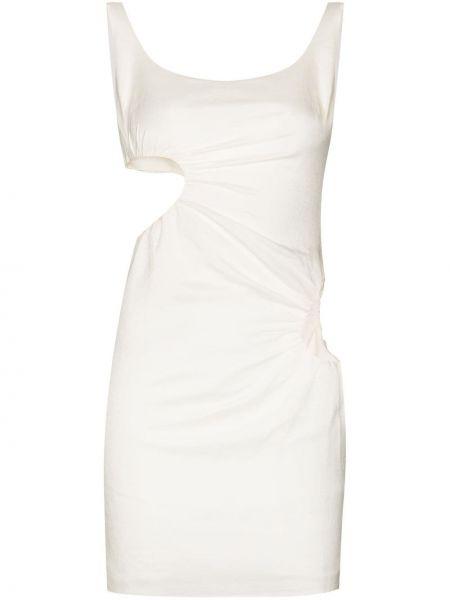 Biała sukienka z wiskozy Danielle Guizio