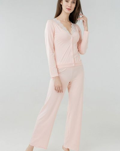 Розовая пижама Ora