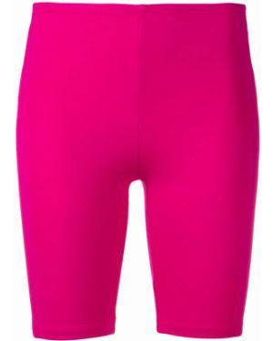 Розовые спортивные шорты Paco Rabanne