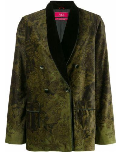 Удлиненный пиджак с карманами с воротником F.r.s For Restless Sleepers