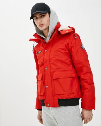 Утепленная красная куртка Haily's
