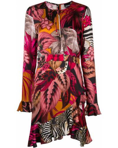 Платье розовое асимметричное Just Cavalli
