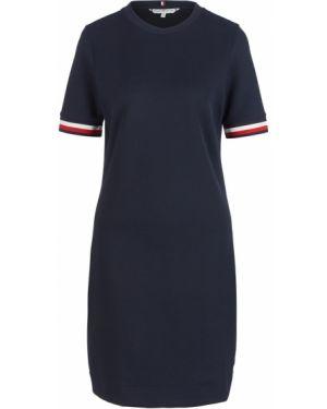 Платье синее с рукавами Tommy Hilfiger