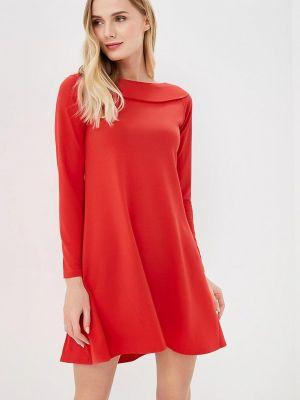 Платье футболка красный Numinou