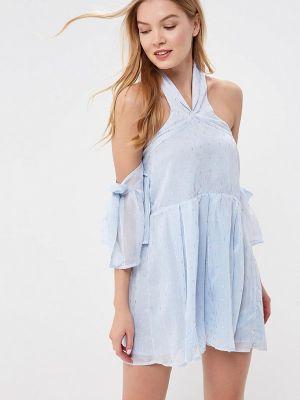 Вечернее платье - голубое Lost Ink Petite