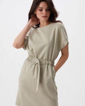 Платье прямое осеннее Love Republic