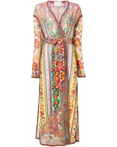 Кимоно с цветочным принтом с рукавами Etro