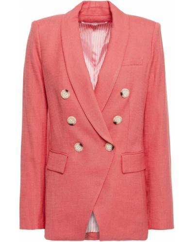 Красный пиджак двубортный с подкладкой Veronica Beard