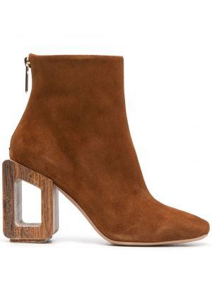 Ankle boots, brązowy Nicholas Kirkwood
