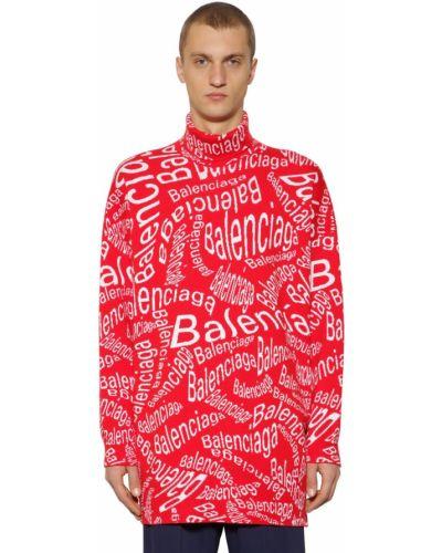 Ażurowy sweter wełniany oversize Balenciaga