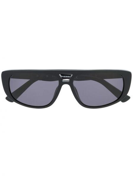 Черные очки прямоугольные Diesel