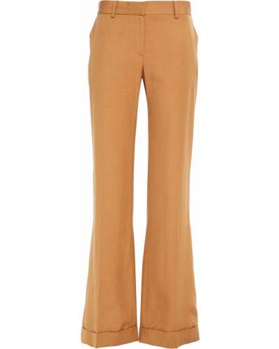 Расклешенные брюки с поясом из вискозы Bella Freud