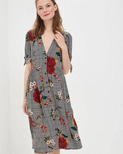Серое платье Sweewe