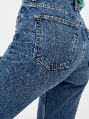 Синие зимние джинсы Topshop