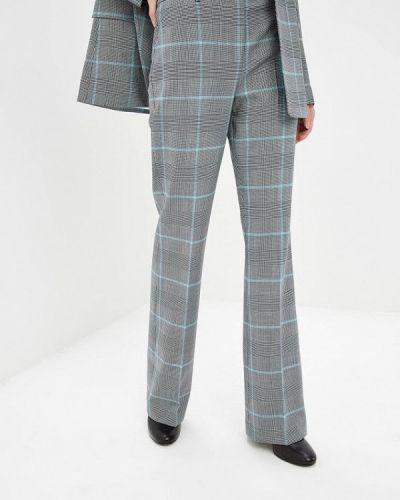 Серые классические брюки Calvin Klein