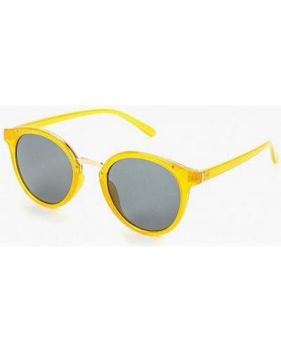 Солнцезащитные очки круглые Violeta By Mango