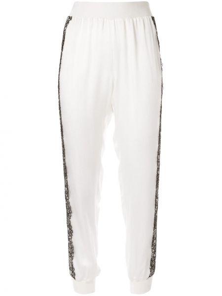 Спортивные брюки белые Giambattista Valli