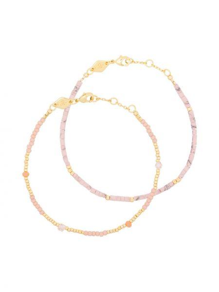 Złota bransoletka ze złota pozłacana Anni Lu