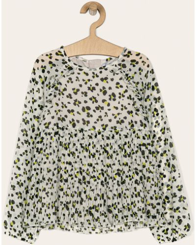 Блуза из вискозы бежевая Mayoral