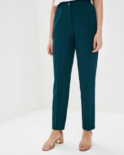 Зеленые брюки повседневные Zarina