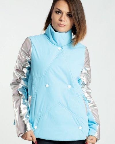 Утепленная куртка демисезонная осенняя Modna Anka