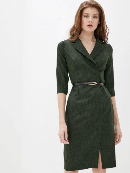 Платье прямое зеленый Pf