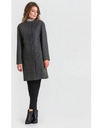 Шерстяное пальто - серое Vovk