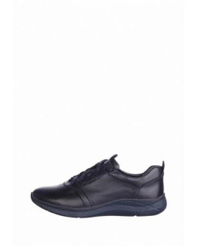 Кожаные кроссовки - синие Faber