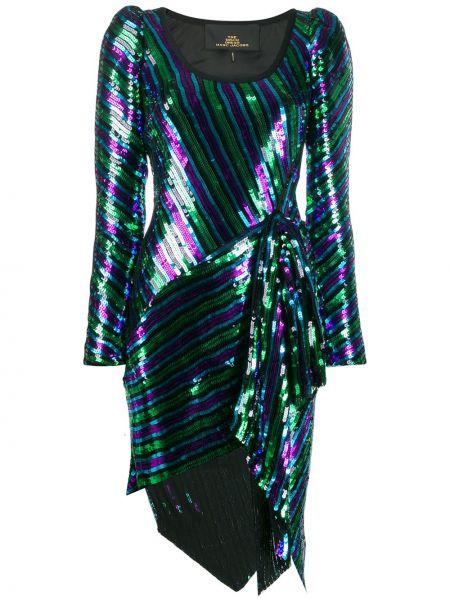 Шерстяное платье макси - черное Marc Jacobs