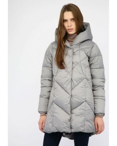 Утепленная куртка - серая Monton