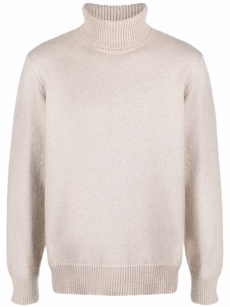 Sweter wełniany - żółty Universal Works
