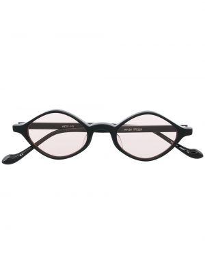 Czarne okulary z diamentem Matsuda