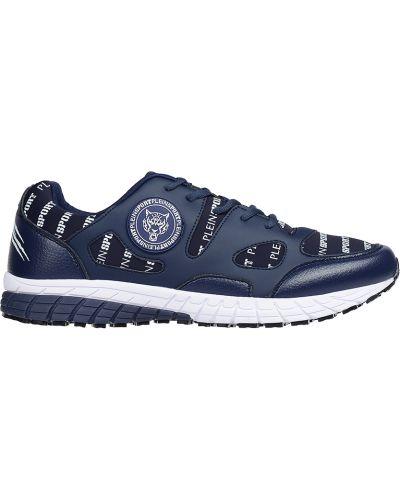 Синие кроссовки Plein Sport