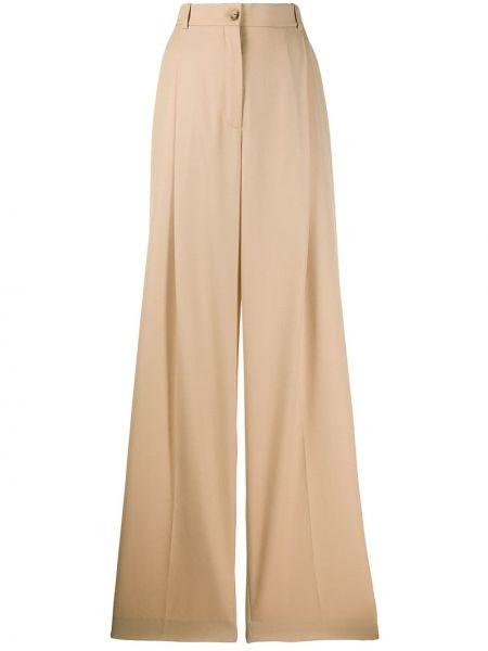 Свободные брюки с поясом с карманами Nina Ricci