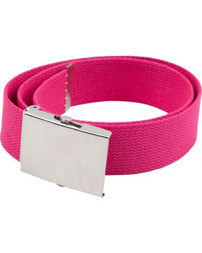 Текстильный брендовый розовый ремень Fun Time