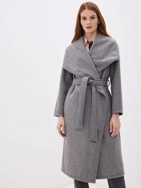 Пальто серое пальто Zarina