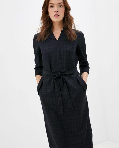 Прямое свободное черное платье Finn Flare