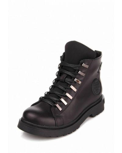 Кожаные ботинки осенние высокие Bosa