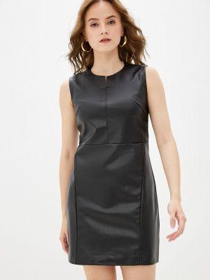 Кожаное платье - черное Softy
