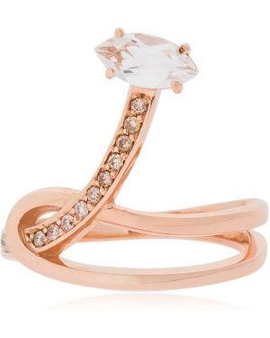 Złoty pierścionek z diamentem Bea Bongiasca
